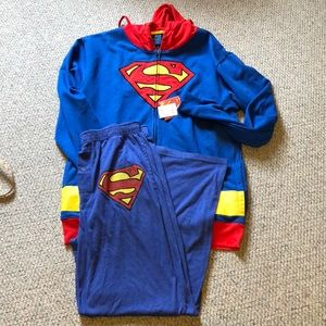 Superman hoody Xxl & Xl bottoms from DC comics